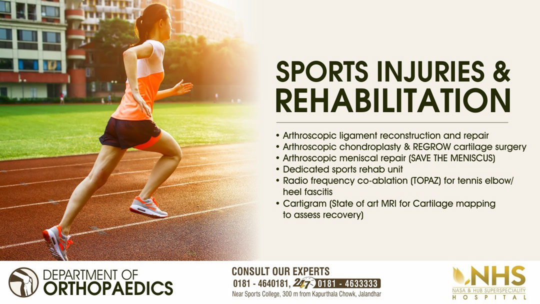 Sports Surgery Banner